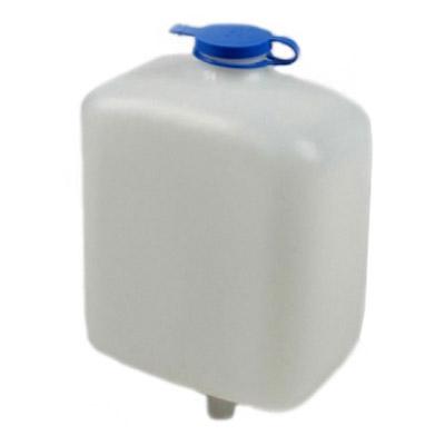 Kunststoffbehälter - 2 Liter - für Öl - inkl. Deckel